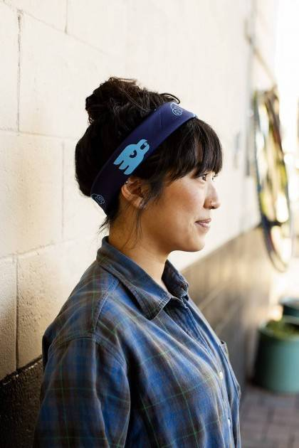 marble brewery blue bandana side view
