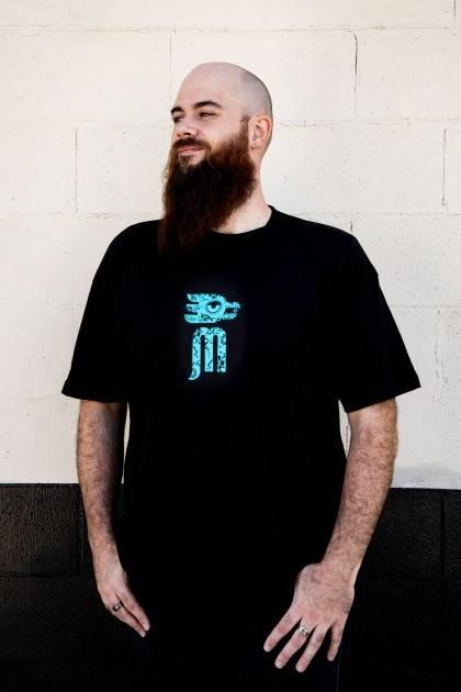 blue muertos back - male  6'4