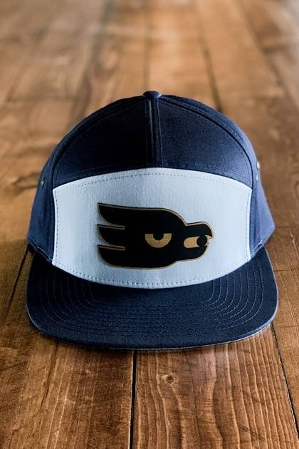 Marble Blue Mav Patch Hat