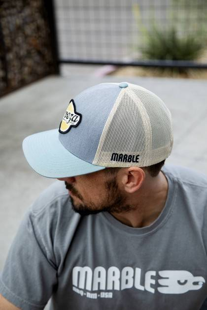 marble brewery cerveza hat men's front view