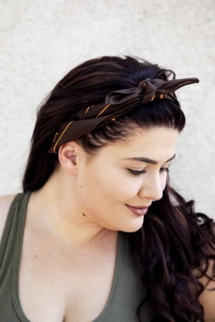Pumpkin Noir Bandana-Headband