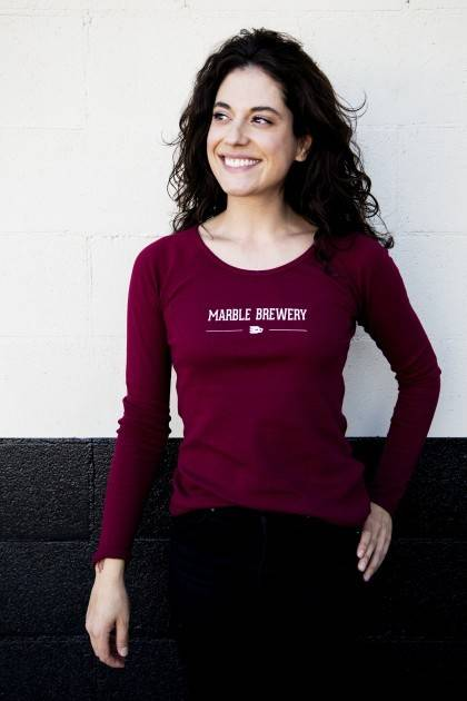 Women's Maroon Thermal Front
